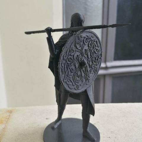 Télécharger fichier impression 3D gratuit Viking Spearman, Snorri