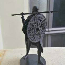 Télécharger fichier impression 3D gratuit Viking Spearman, Snorri