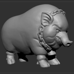 Download free 3D model Piggy Bank, Snorri