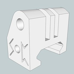Download free STL file Picatinny gopro support • 3D print object, Snorri