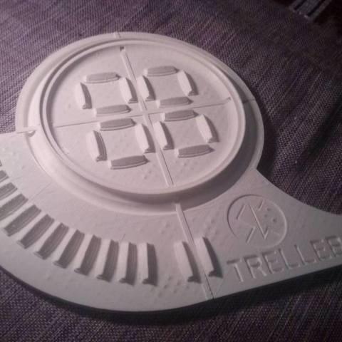 Free 3D printer model Viking Trelleborg, Snorri
