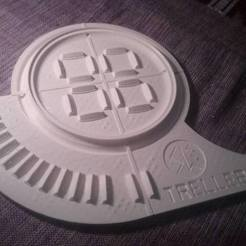 Download free 3D printing templates Viking Trelleborg, Snorri