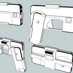 Impresiones 3D gratis Pistola telefónica, Snorri