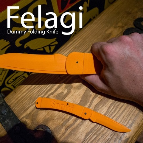 83b240bbd69602a0fbf32f5e77f83ade_display_large.jpg Download free STL file Felagi -  Folding Knife • 3D printing object, Snorri