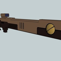 Free stl files Pulse Rifle, Snorri