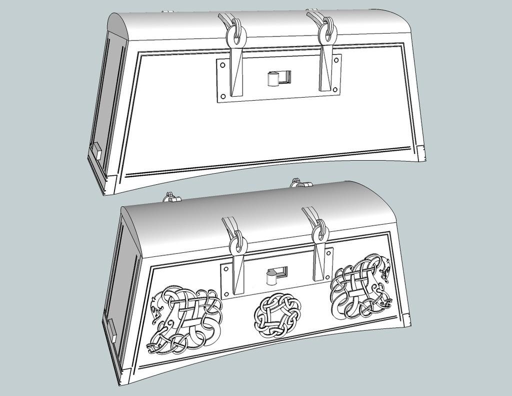 232f1784dee4525149875e662c441f13_display_large.jpg Download free STL file Viking Chest - Hedeby and fantasy version • 3D printable design, Snorri