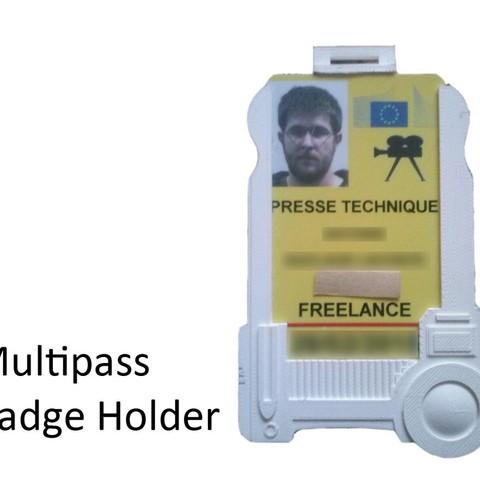 1da86e847d82c1432dd71773b4c27193_display_large.jpg Download free STL file Multipass Badge Holder, the 5th element • Object to 3D print, Snorri