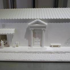 Free STL Roman Street Diorama, Snorri