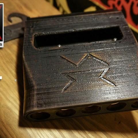 Descargar Modelos 3D para imprimir gratis Skapt - Pistola Airsoft, Snorri