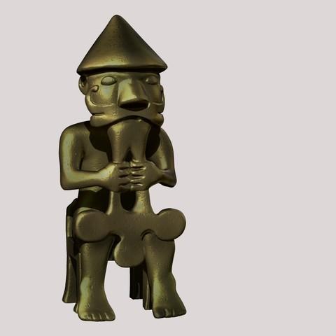 Télécharger plan imprimante 3D Statue de l'Eyrarland, Snorri