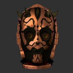 Download free 3D printing designs Darth C-3PO, Snorri