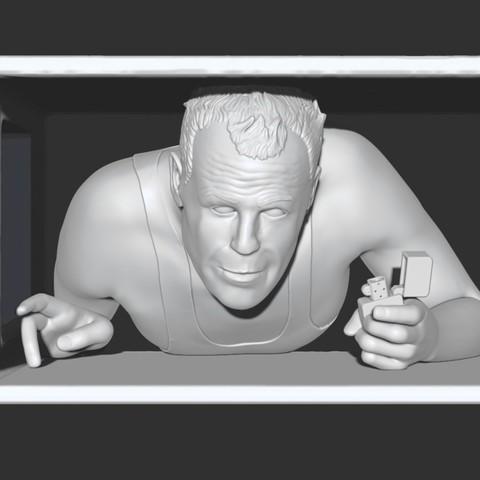 Free 3D model Die Hard - John McClane, Snorri