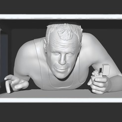 Download free 3D printing files Die Hard - John McClane, Snorri