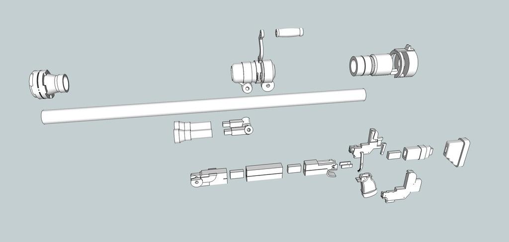 2bd8f2fff43ef1aa56d6c25da4c0be6e_display_large.jpg Download free OBJ file Hellsing ARMS Anti-Tank Cannon - Harkonnen - Airsoft grenade launcher • 3D printing design, Snorri