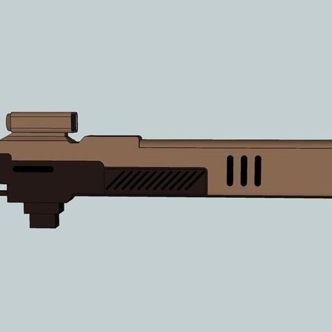 b443e98ba76b733e497cbeeb19ea4d91_display_large.jpg Download free STL file Pulse Rifle • 3D printer template, Snorri