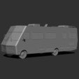 3D printer models 1986 Fleetwood Bounder - Breaking Bad RV, Snorri