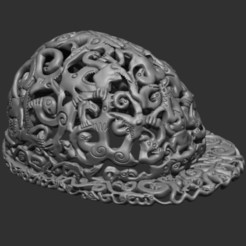 Download free STL files LSD Cap, Snorri