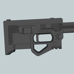 Free 3d printer designs Zip gun 22LR, Snorri