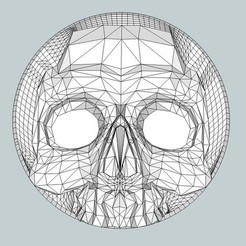 Free 3D printer files Skull Box, Snorri