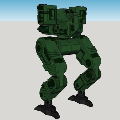 0d463342ab3c1ffead977d440f4e264c_display_large.jpg Download free STL file Mech Warrior • 3D print object, Snorri