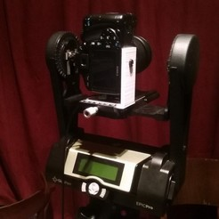 Download free 3D printer files Gigapan Epic Pro - L bracket, Snorri