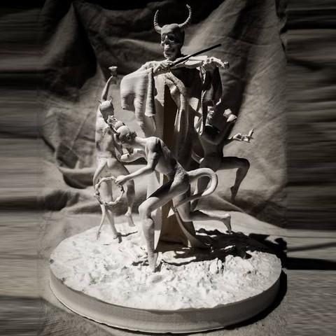 Imprimir en 3D Baile Macabro, Snorri