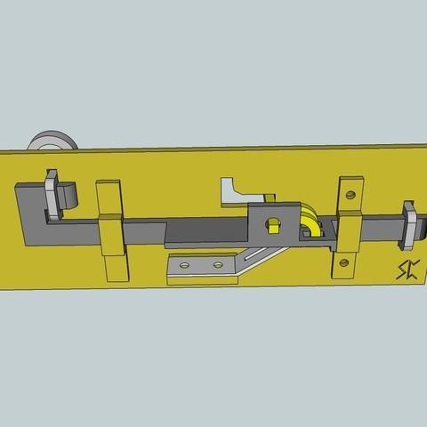 Modèle 3D gratuit Serrure de poitrine Viking, Snorri