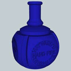 205e9b1d442686d0a95fc6adb61e7341_display_large.jpg Download free STL file Hayward's hand fire grenade • Design to 3D print, Snorri