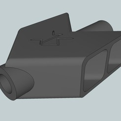 Download free 3D model Barrett Airsoft Flash Hider, Snorri