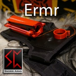 ermr1.jpg Download STL file Ermr - Wrist mounted airsoft gun • 3D printing model, Snorri
