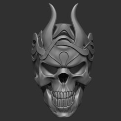 Free 3D printer files King Skull, Snorri