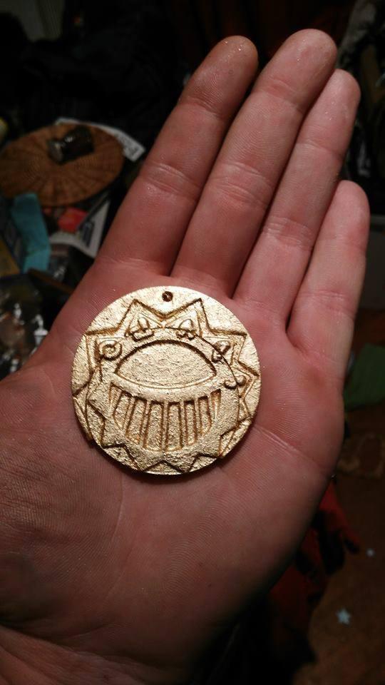 dd03c6ec5bf49e08c2d09b0bae8e5e45_display_large.jpg Download free STL file Médaillon d'or des Mystérieuses Cités d'or, The Mysterious Cities of Gold • Design to 3D print, Snorri