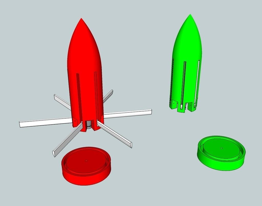 cd4b3cc76e61dd42c9e9df59b95c6e33_display_large.jpg Download free STL file CO2 Rocket • Model to 3D print, Snorri