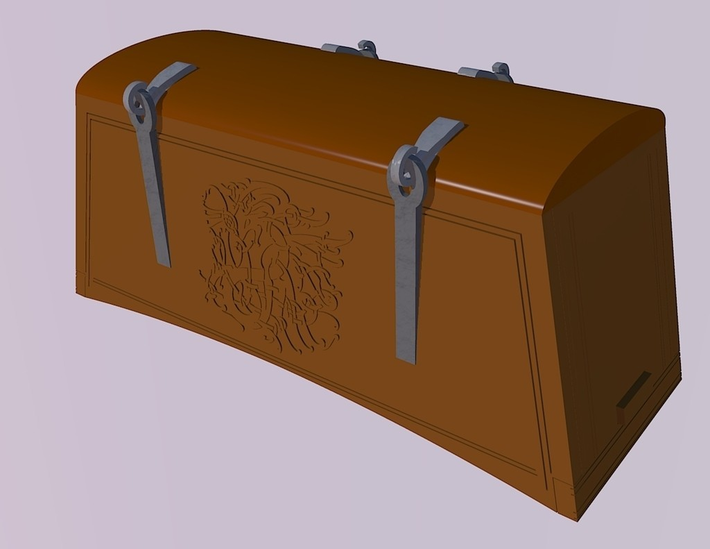 8a64ea7a1756fdf5993772ceeace6eb7_display_large.jpg Download free STL file Viking Chest - Hedeby and fantasy version • 3D printable design, Snorri