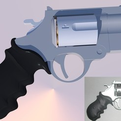 Free 3d printer model Saiyuuki Reload SW Revolver, Snorri