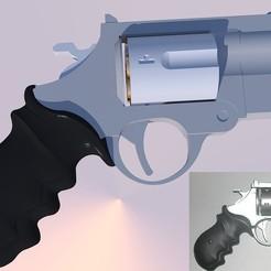 Objet 3D gratuit Saiyuuuki Revolver SW Rechargeable, Snorri