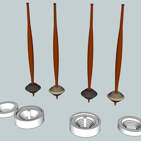 Download free 3D printer designs Viking Spindle, Snorri