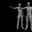 Descargar modelos 3D gratis Pulp Fiction - Vincent Vega y Jules Winnfield, Snorri