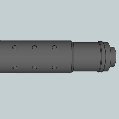 3ef95d93c1ff1cb8641273279dec04ad_display_large.jpg Download free STL file Airsoft Mk 23 Short silencer • 3D printing model, Snorri