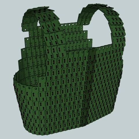 Modern Lamellar Armor
