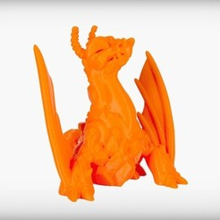 VOLCANO_display_large.jpg Download free STL file Eruptron the Volcano Dragon • 3D print design, CoryDelgado