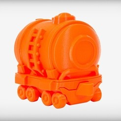 Free 3D printer files Terrific Tankcar, CoryDelgado