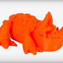 Descargar Modelos 3D para imprimir gratis Dragón cocodrilo de mandíbula larga, CoryDelgado