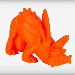Imprimir en 3D gratis Murlurk el Dragón de la Niebla, CoryDelgado