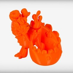 Free 3D printer designs Atmos the Elemental Dragon, CoryDelgado