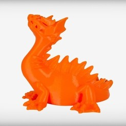 WATER_display_large.jpg Download free STL file Aquaticus the Water Dragon • Object to 3D print, CoryDelgado