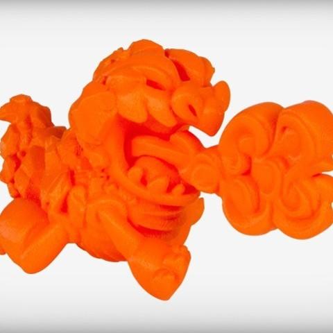 Descargar archivos STL gratis Golemong el Dragón de la Roca, CoryDelgado