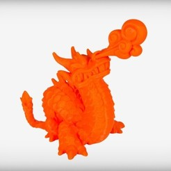 Download free 3D printing templates Longhuo the Eastern Dragon, CoryDelgado