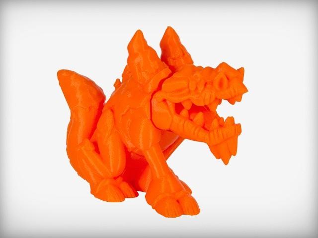 ICE_display_large.jpg Download free STL file Frozentail the Ice Dragon • 3D printing design, CoryDelgado