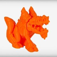 Descargar STL gratis Frozentail el Dragón de Hielo, CoryDelgado